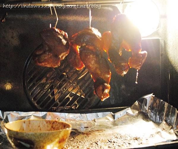 叉燒肉 掛進烤箱A