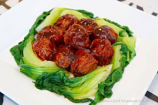 紅燒麵筋塞肉--成品