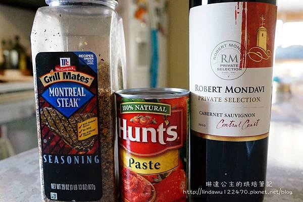 肉醬義大利麵--紅酒番茄膏montreal salt