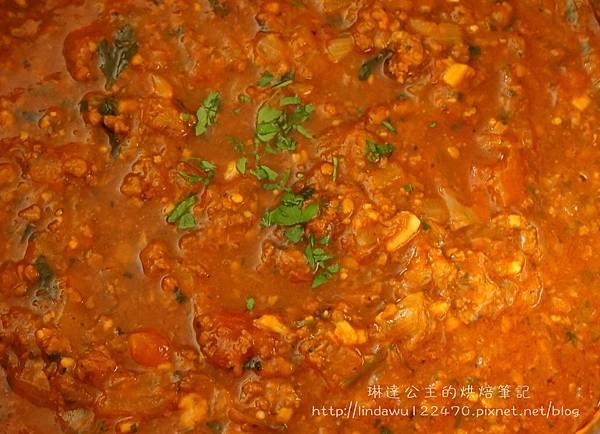 肉醬義大利麵--熬煮2個小時