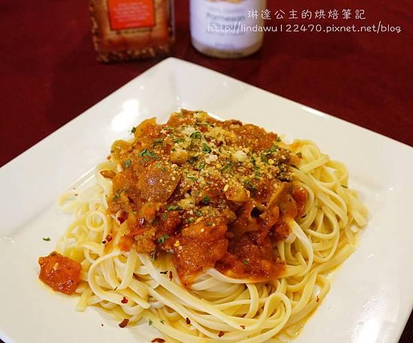 肉醬義大利麵--成品2