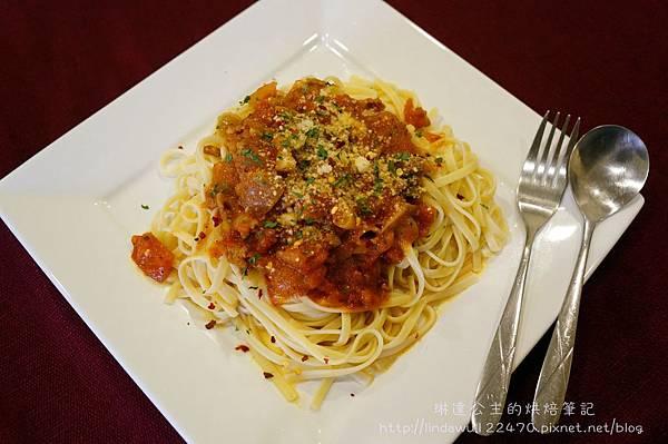 肉醬義大利麵--成品3