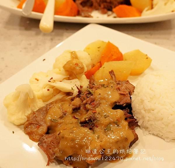 美式燉牛肉(烤箱版)-成品圖2