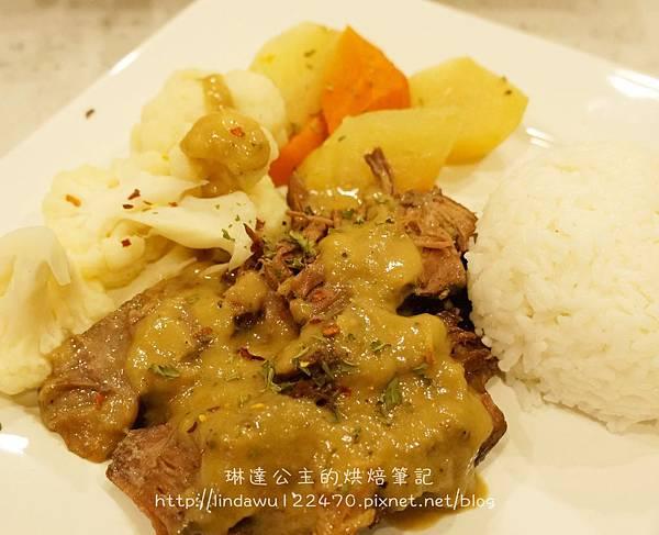 美式燉牛肉(烤箱版)-成品圖1