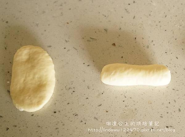 藍莓乳酪起司麵包-整形