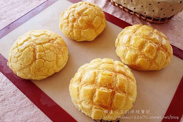 菠蘿麵包成品圖2