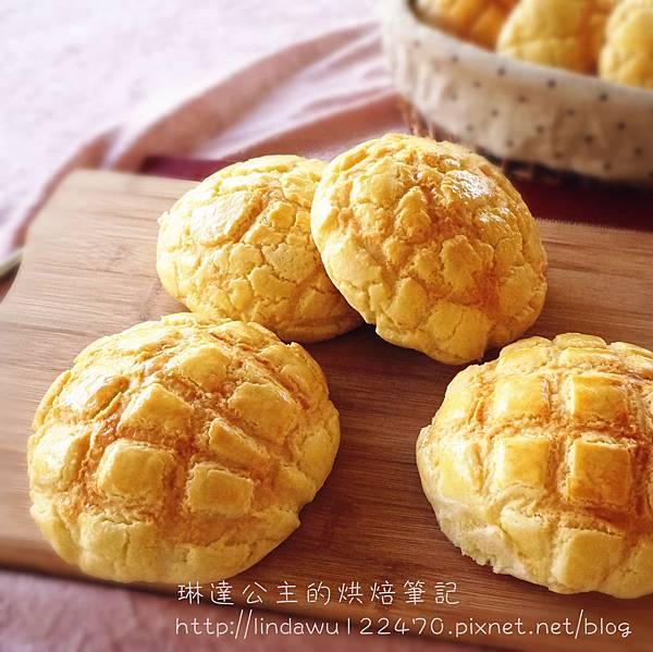 菠蘿麵包成品圖3