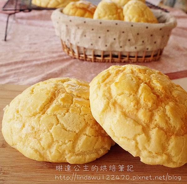 菠蘿麵包成品圖1
