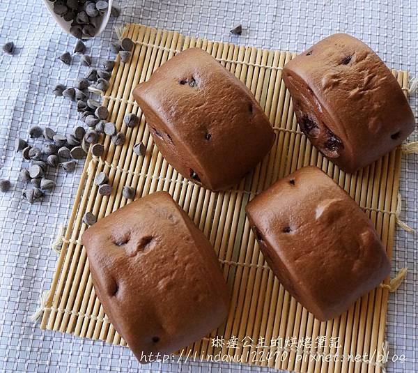 巧克力豆饅頭-成品圖3