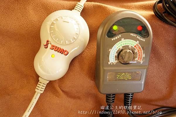 自製發酵箱-電毯接上控溫器