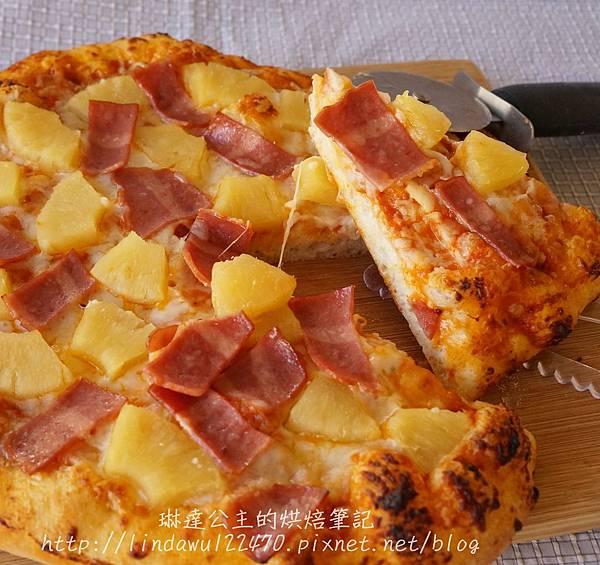 石板披薩-夏威夷成品圖3