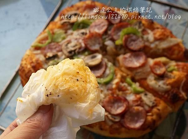 石板披薩--吸油