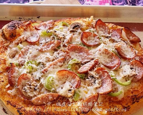 石板披薩--烤盤pizza