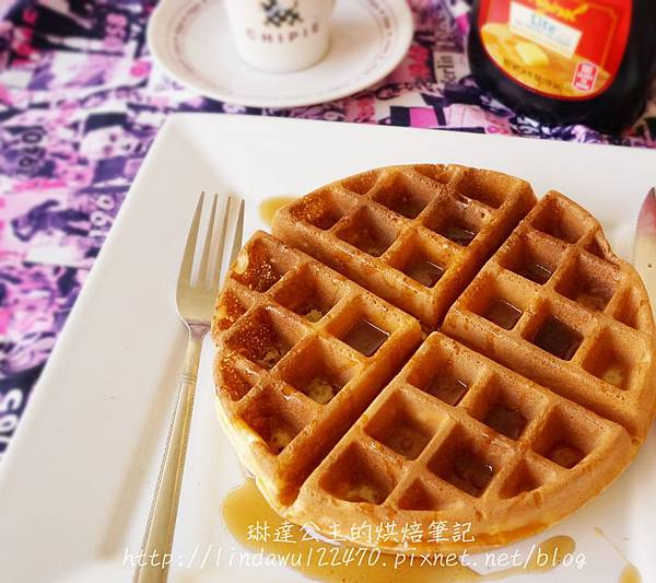 美式早餐店_充滿空氣感的比利時格子鬆餅Classic Belgian Waffle @ 琳達公主的廚房 ...