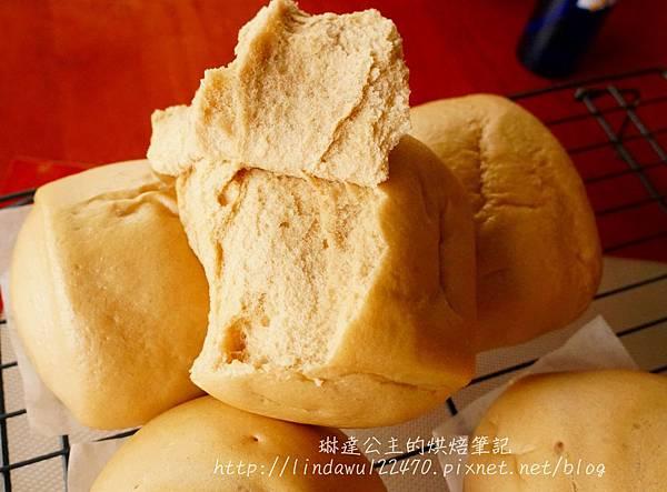 黑糖饅頭(老麵)-成品圖1