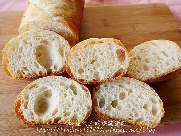第102號法國麵包-氣孔