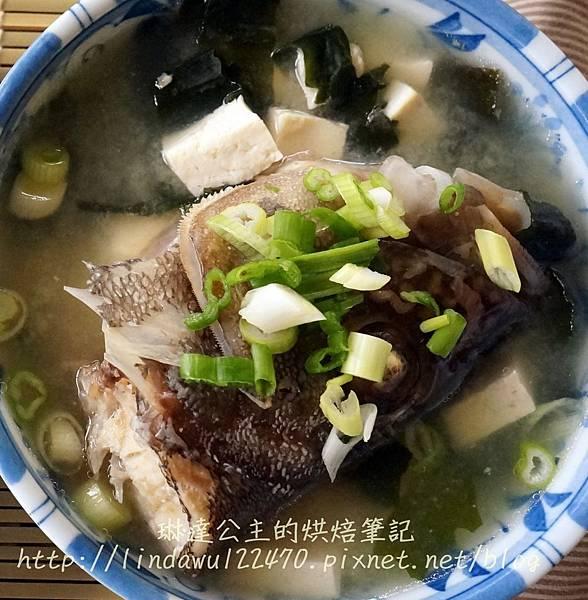 2014-12-14魚頭味增湯