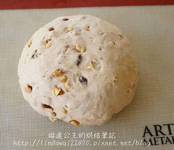 全麥桂圓核桃饅頭 5