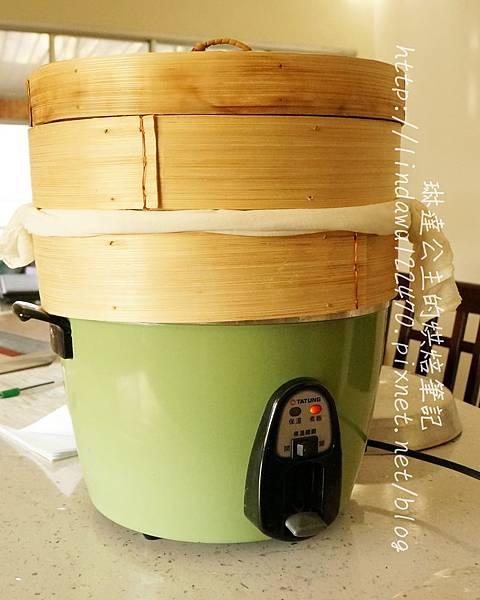 白饅頭--電鍋