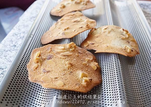 杏仁核桃薄片餅乾3