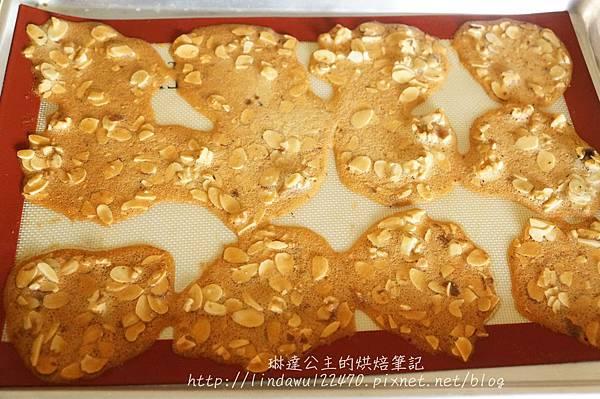 杏仁核桃薄片餅乾8