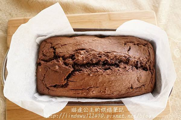 巧克力香蕉核桃蛋糕12