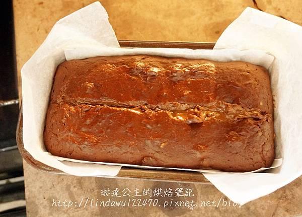 巧克力香蕉核桃蛋糕11