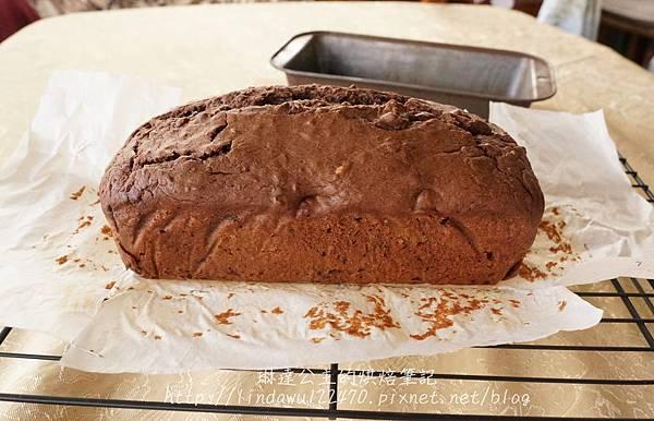 巧克力香蕉核桃蛋糕14