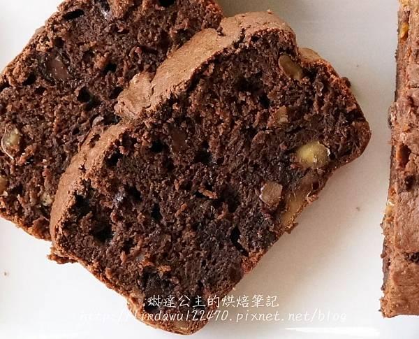 巧克力香蕉核桃蛋糕17