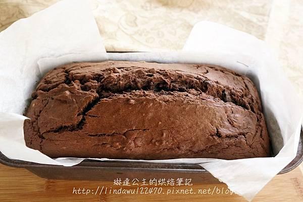 巧克力香蕉核桃蛋糕13