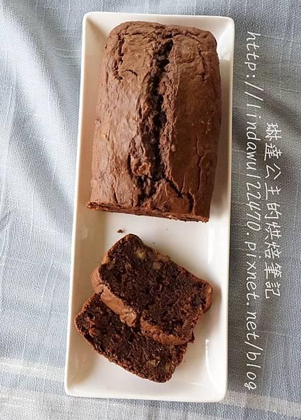 巧克力香蕉核桃蛋糕18