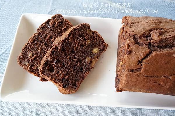 巧克力香蕉核桃蛋糕16