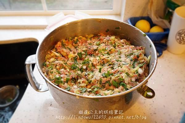 高麗菜韭菜水餃5