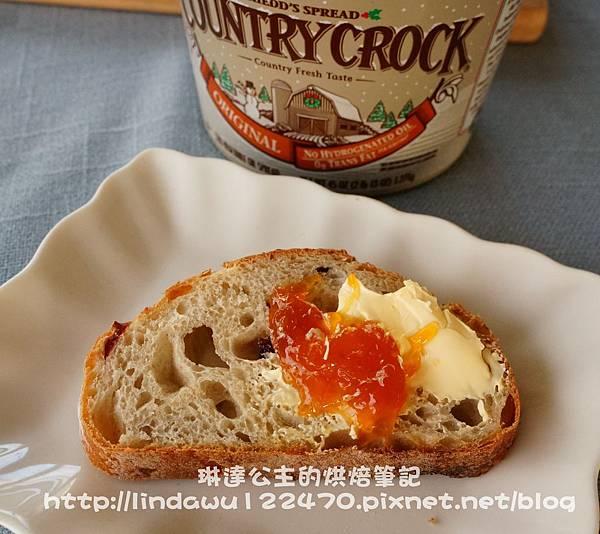 鄉村蔓越莓麵包16