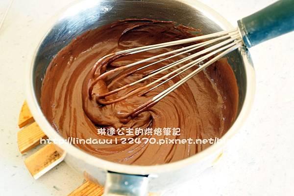 巧克力棉花蛋糕3