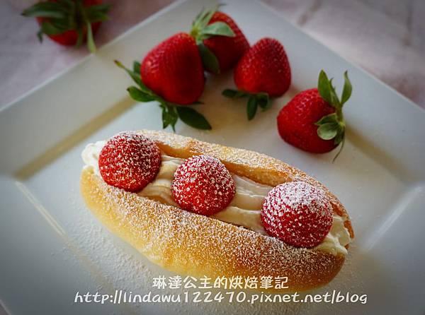草莓鮮奶油麵包13
