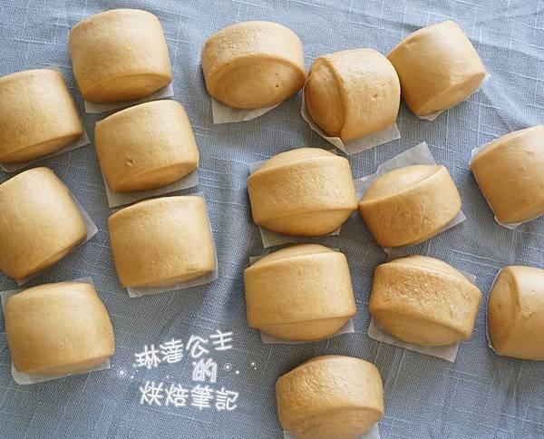黑糖老麵饅頭 14