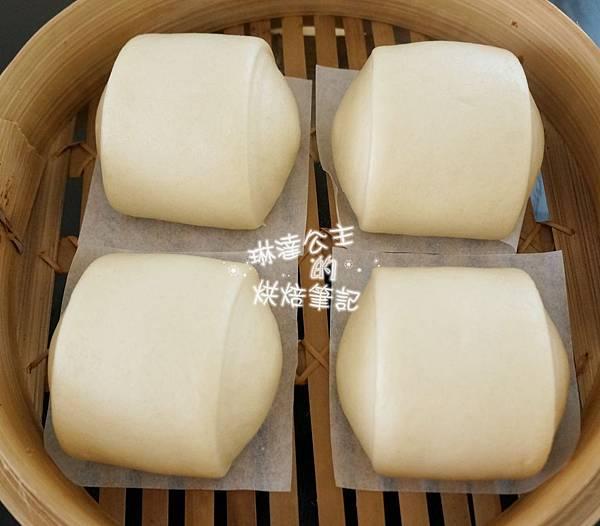 鮮奶饅頭(中種法)8