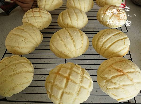 日式菠蘿麵包18