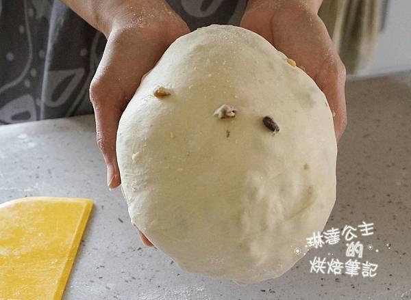 核桃葡萄麵包 5