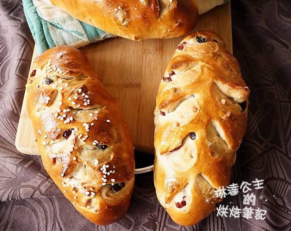 核桃葡萄麵包 12