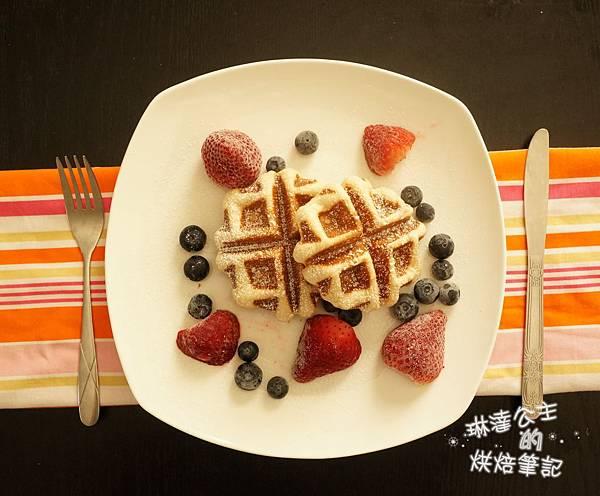列日鬆餅 11