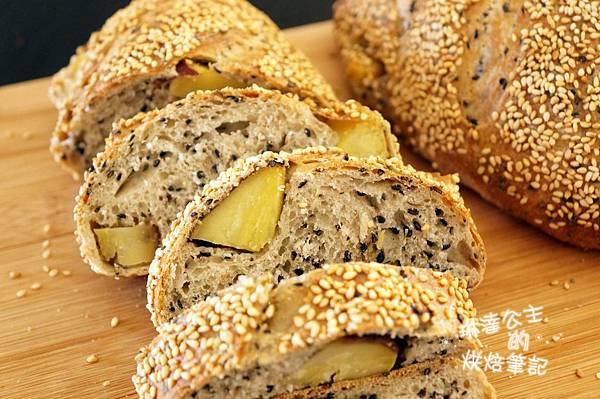 芝麻地瓜麵包 21