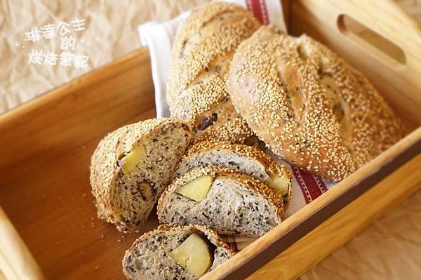 芝麻地瓜麵包 23