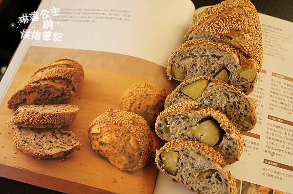 芝麻地瓜麵包 19