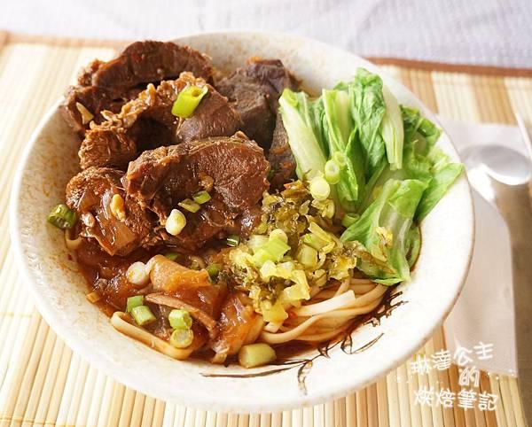 紅燒牛肉麵 10
