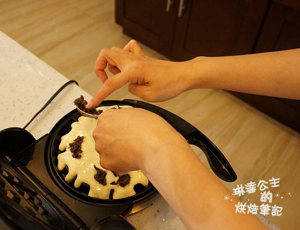 紅豆鬆餅 17