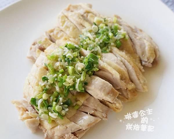 蔥油雞 4