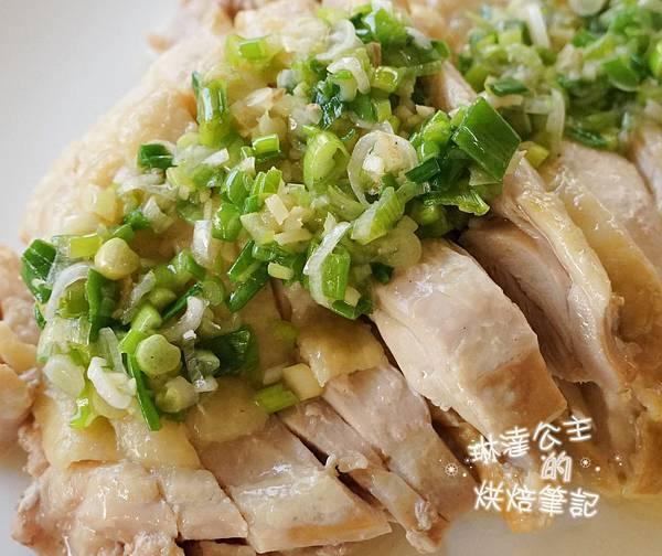 蔥油雞 5