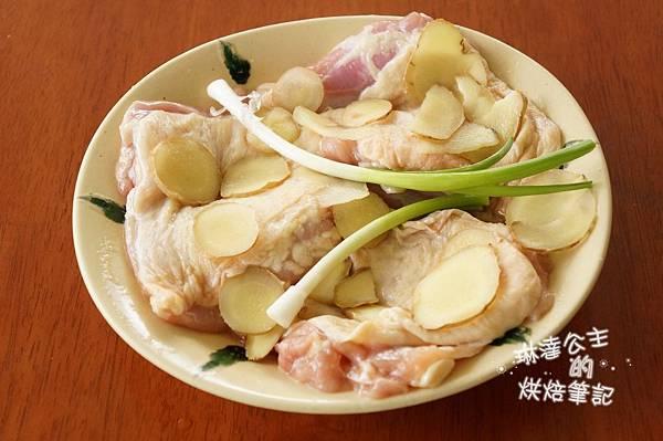蔥油雞 2